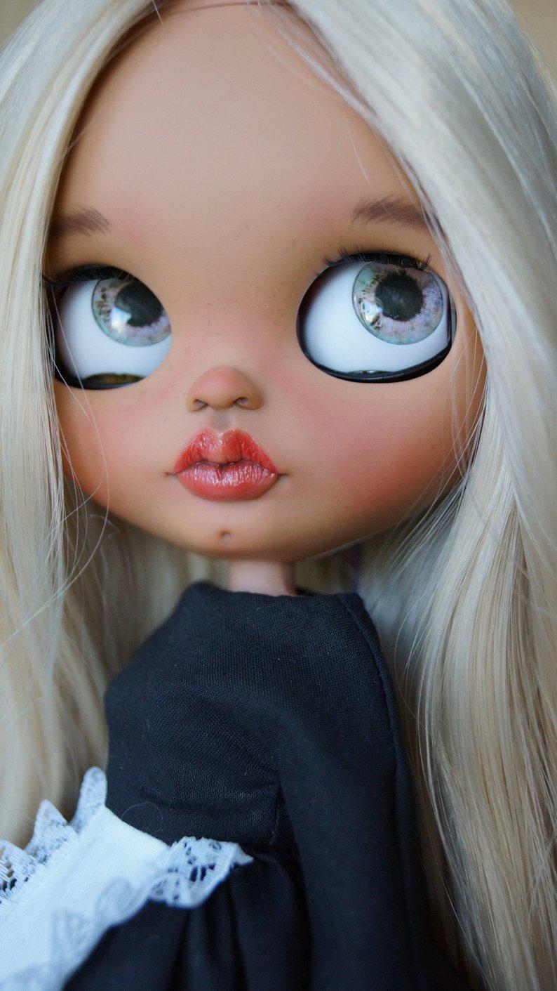 Edith - Custom Blythe Doll One-Of-A-Kind OOAK Sold-out Custom Blythes