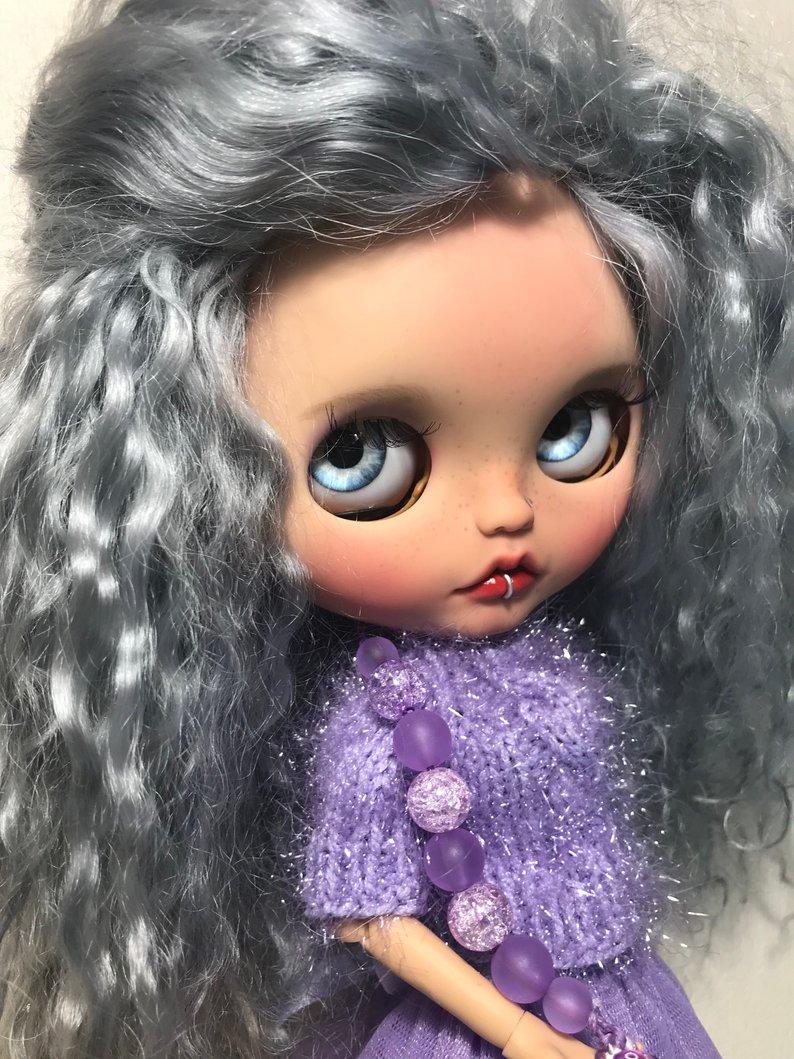Simona - Custom Blythe Doll One-Of-A-Kind OOAK Sold-out Custom Blythes