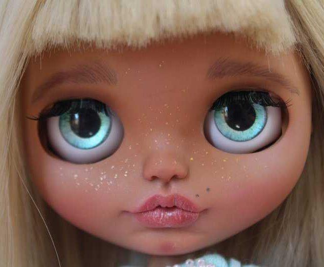 Shokolat - سفارشی Blythe عروسک OOAK