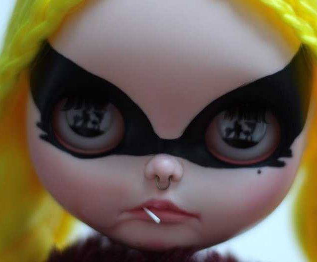 Beast – Custom Blythe Doll OOAK
