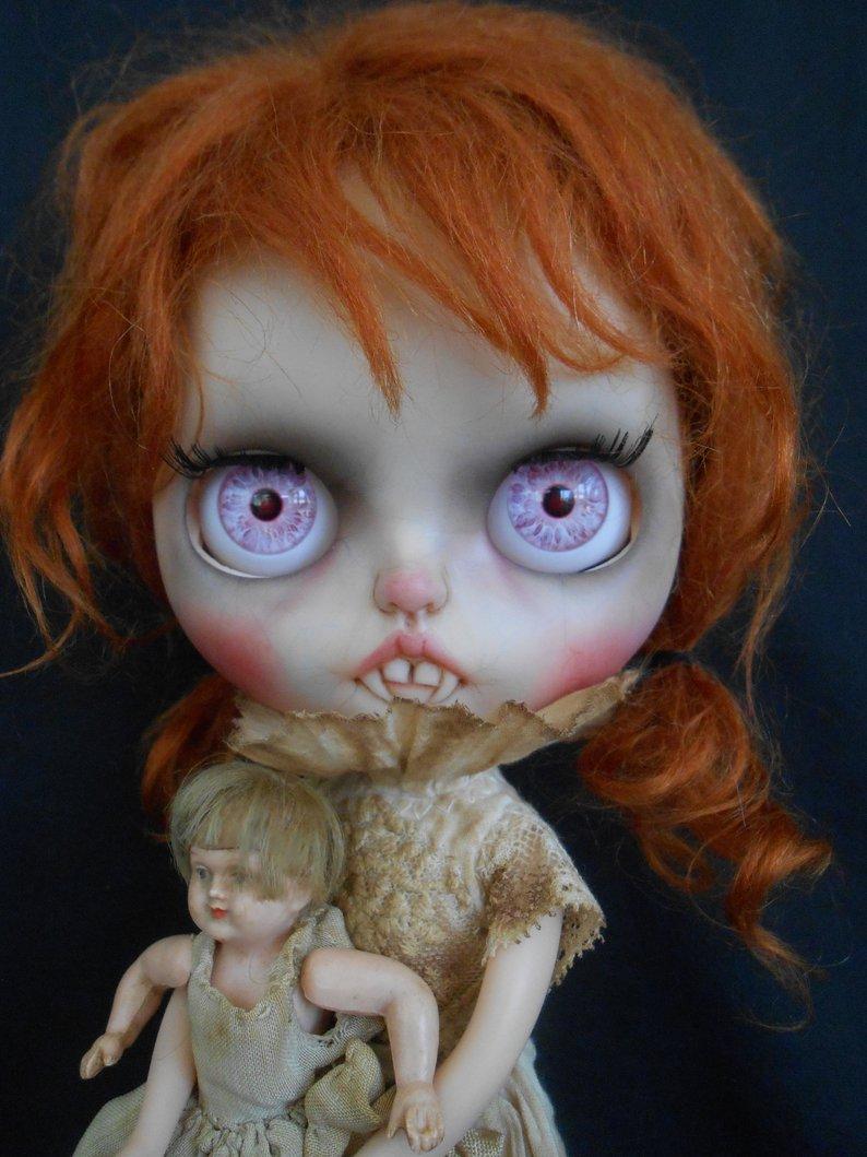 Jazlyn - Custom Blythe Doll One-Of-A-Kind OOAK Sold-out Custom Blythes