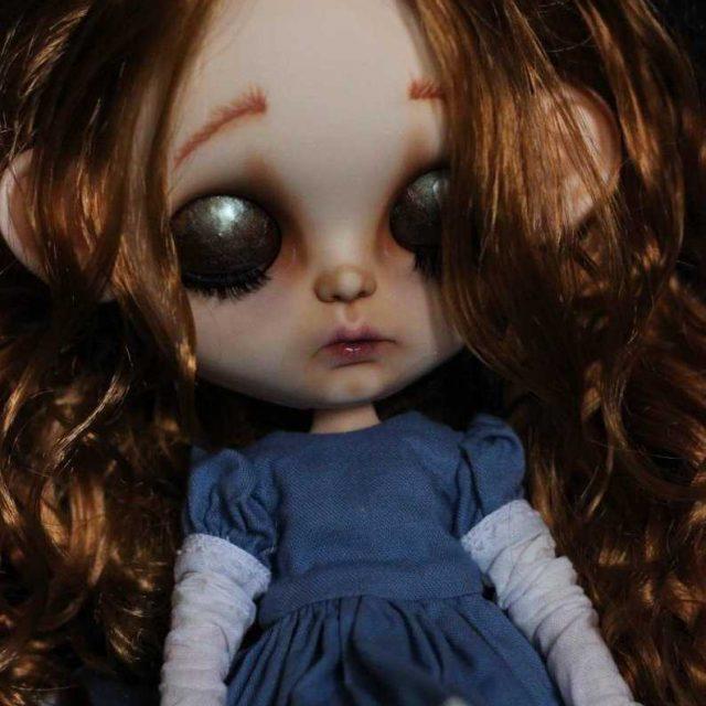 Cinderella – Custom Blythe Doll One-Of-A-Kind OOAK