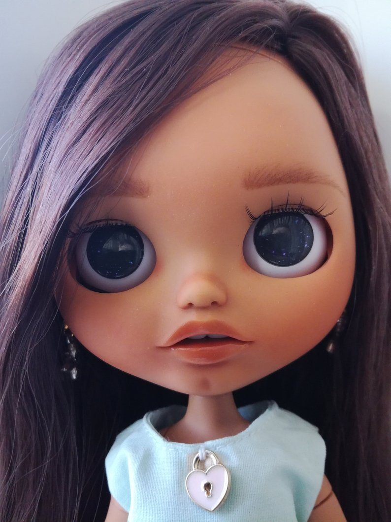 Michelle - Custom Blythe Doll One-Of-A-Kind OOAK Sold-out Custom Blythes