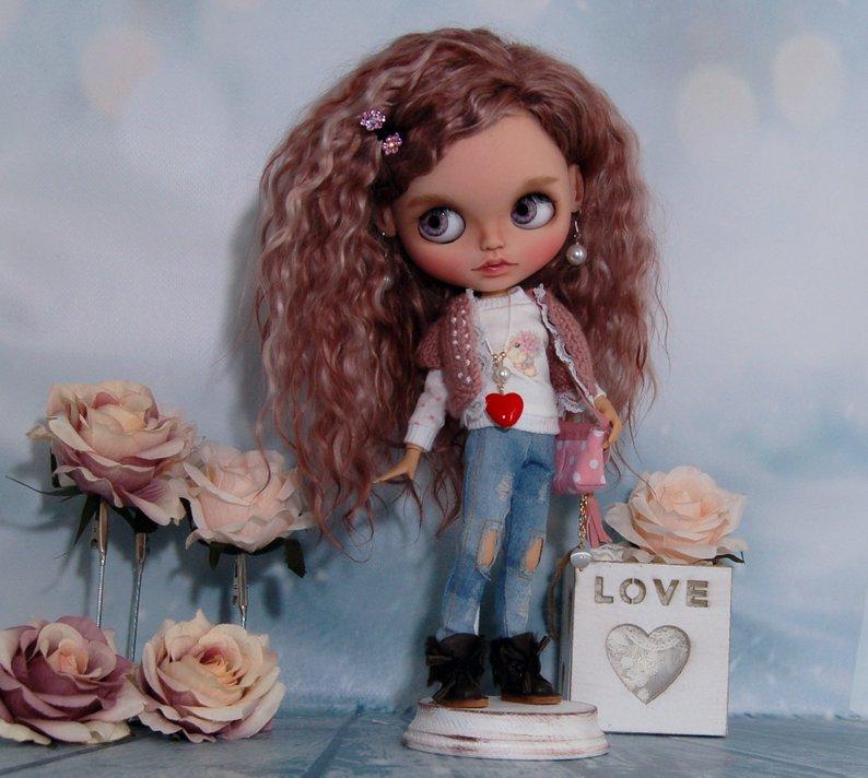 Jazmine - Custom Blythe Doll One-Of-A-Kind OOAK Sold-out Custom Blythes