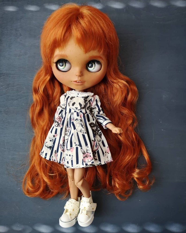 Mikayla - Custom Blythe Doll One-Of-A-Kind OOAK Sold-out Custom Blythes