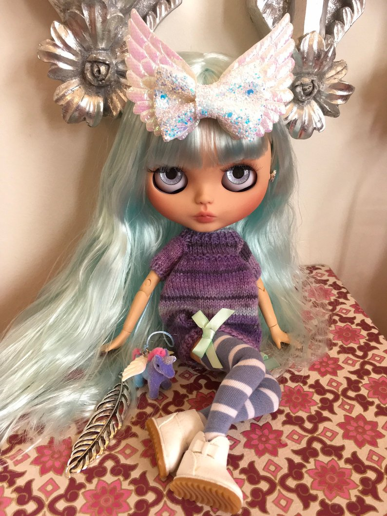 Angel - Custom Blythe Doll One-Of-A-Kind OOAK Sold-out Custom Blythes