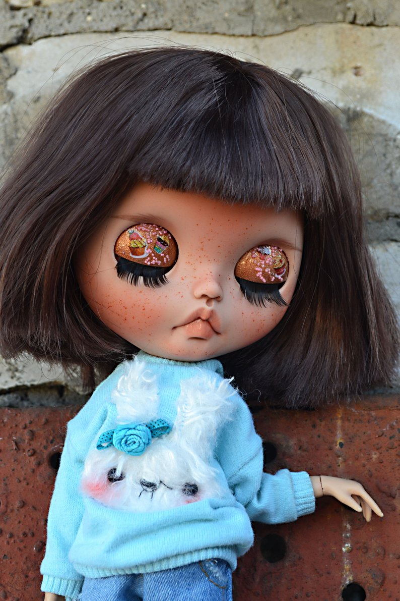 Jeanne - Custom Blythe Doll One-Of-A-Kind OOAK Sold-out Custom Blythes
