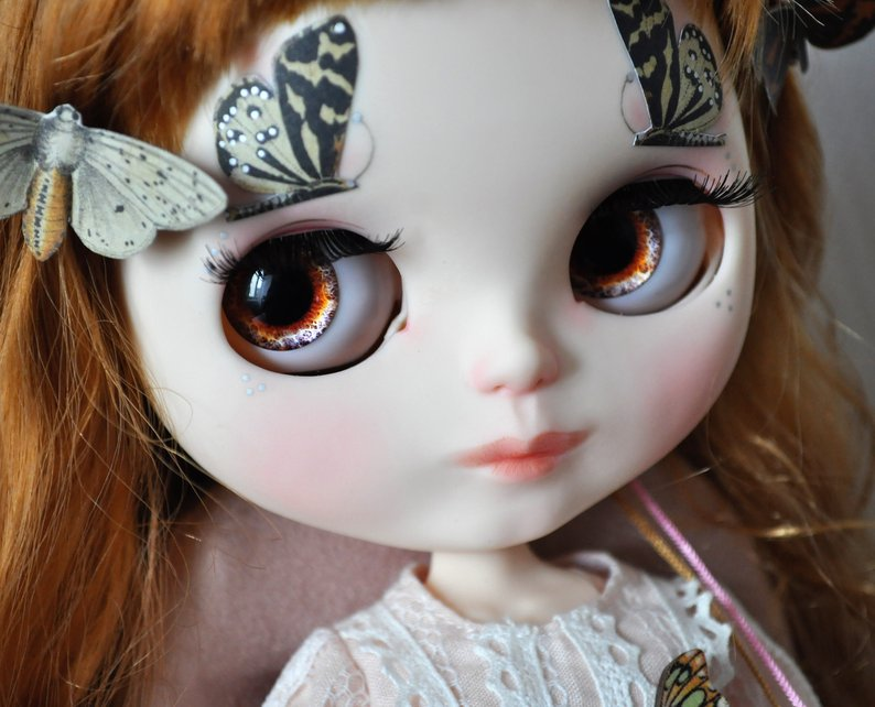 Adele - Custom Blythe Doll One-Of-A-Kind OOAK Sold-out Custom Blythes