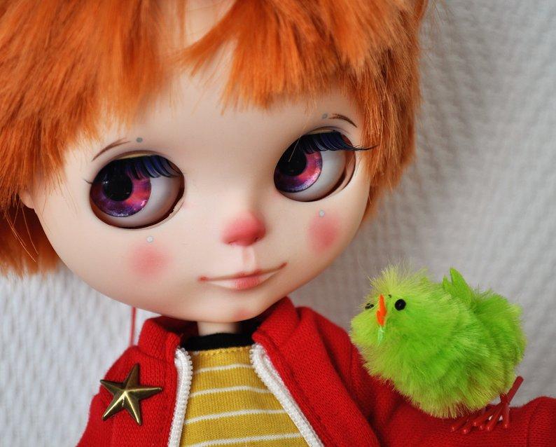 Felicien - Custom Blythe Doll One-Of-A-Kind OOAK Sold-out Custom Blythes