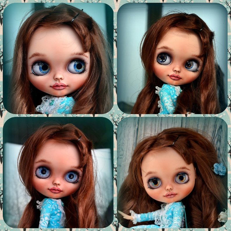Dalia - Custom Blythe Doll One-Of-A-Kind OOAK Sold-out Custom Blythes