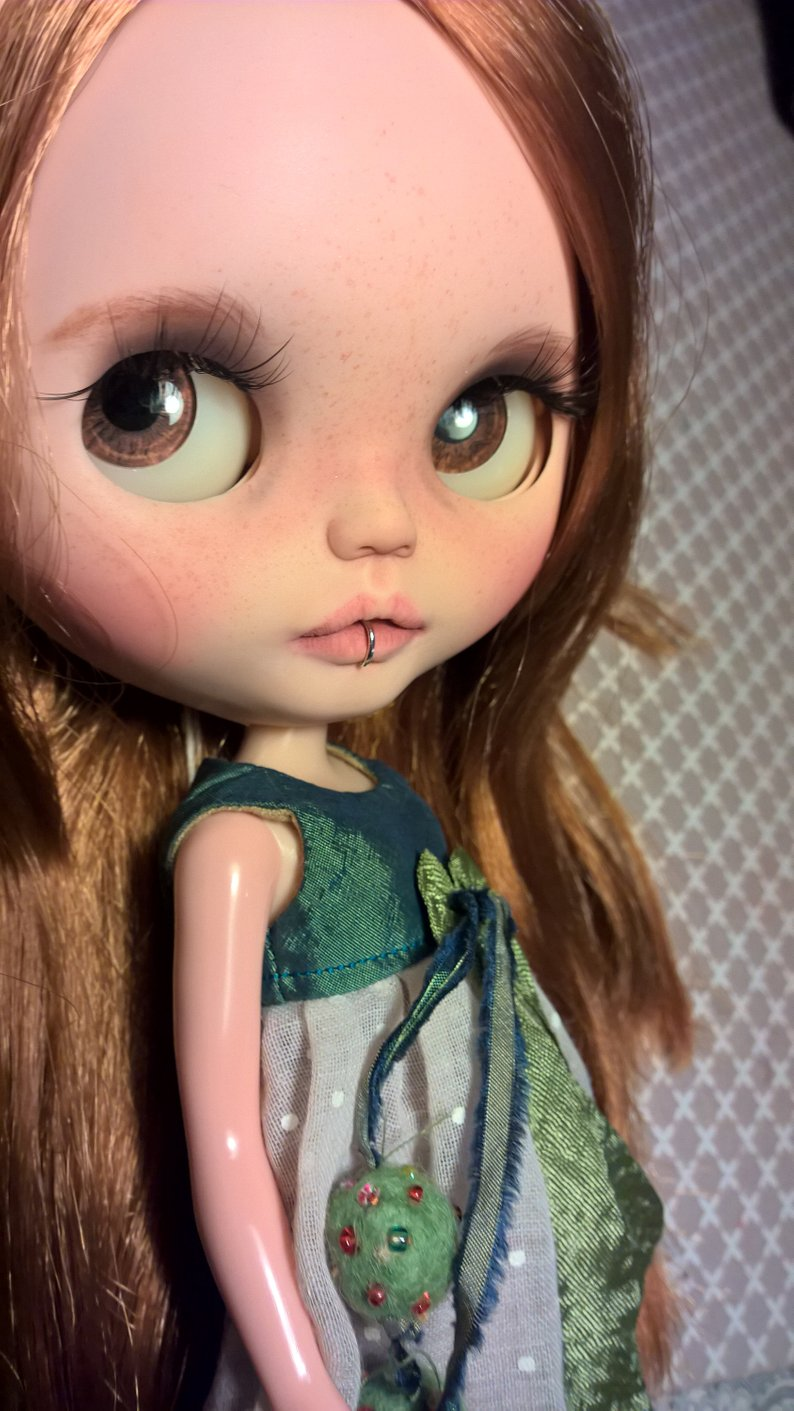 Alicia - Custom Blythe Doll One-Of-A-Kind OOAK Sold-out Custom Blythes
