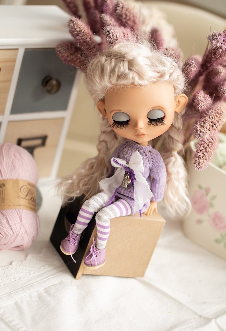 Lina - Custom Blythe Doll One-Of-A-Kind OOAK Sold-out Custom Blythes