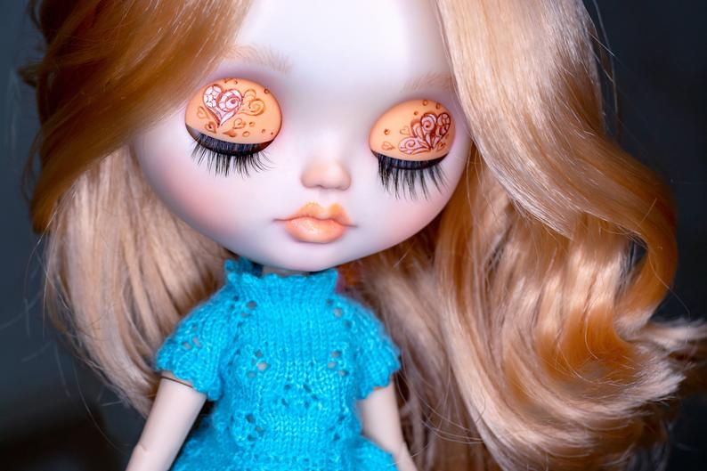 Serenity - Custom Blythe Doll One-Of-A-Kind OOAK Sold-out Custom Blythes