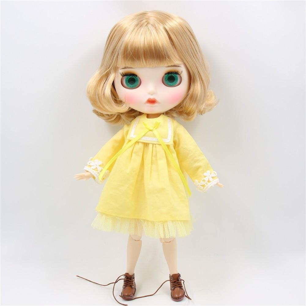Merle – Premium Custom Blythe Doll with Full Outfit Pouty Face Pouty Face Premium Blythe Dolls 🆕