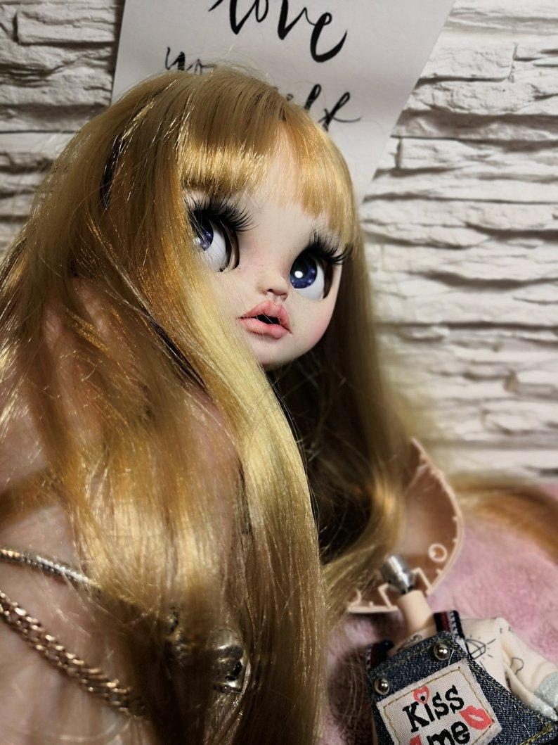 Rhiannon - Custom Blythe Doll One-Of-A-Kind OOAK Sold-out Custom Blythes