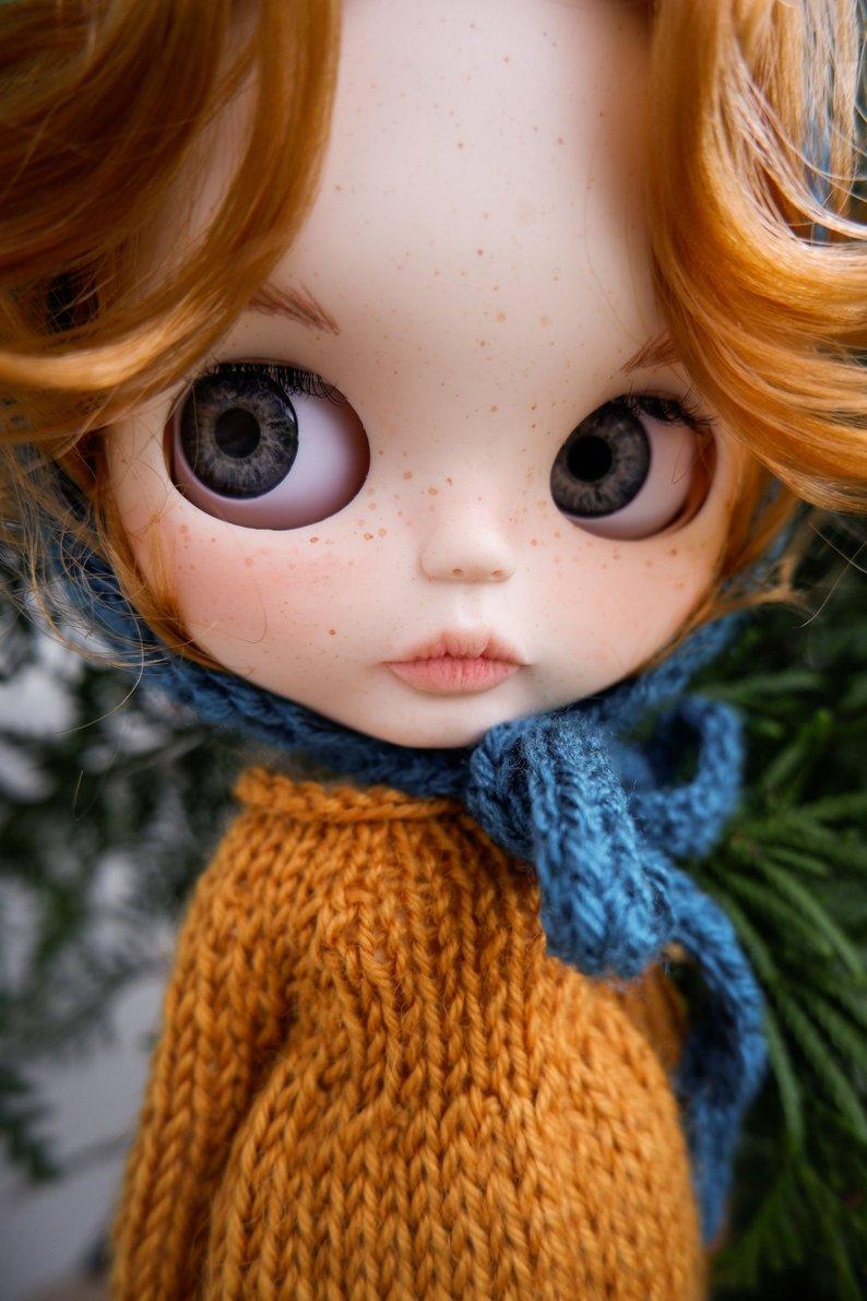 Kristine - Custom Blythe Doll One-Of-A-Kind OOAK Sold-out Custom Blythes