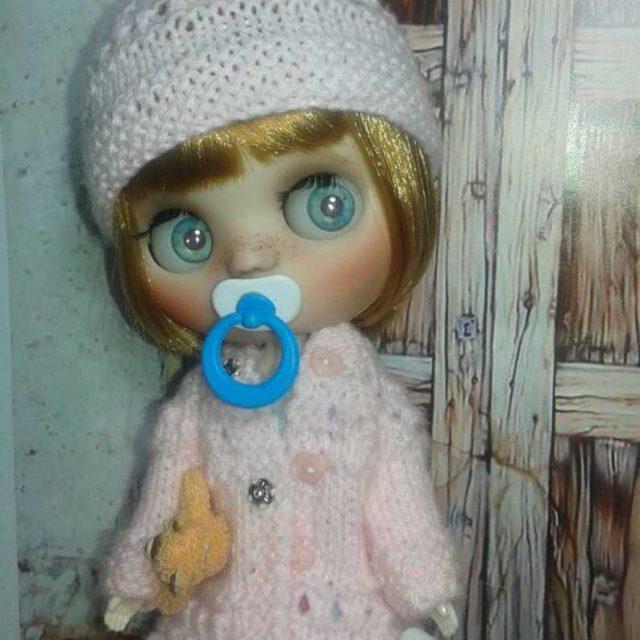 Abba – Custom Blythe Doll One-Of-A-Kind OOAK