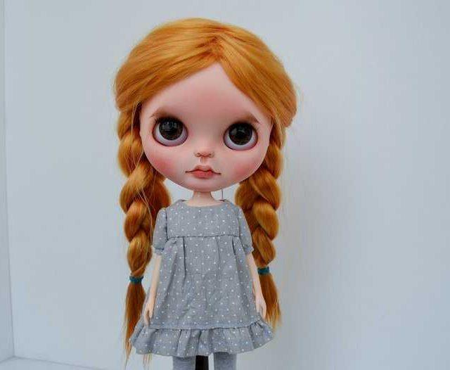 Tam – Custom Blythe Doll One-Of-A-Kind OOAK