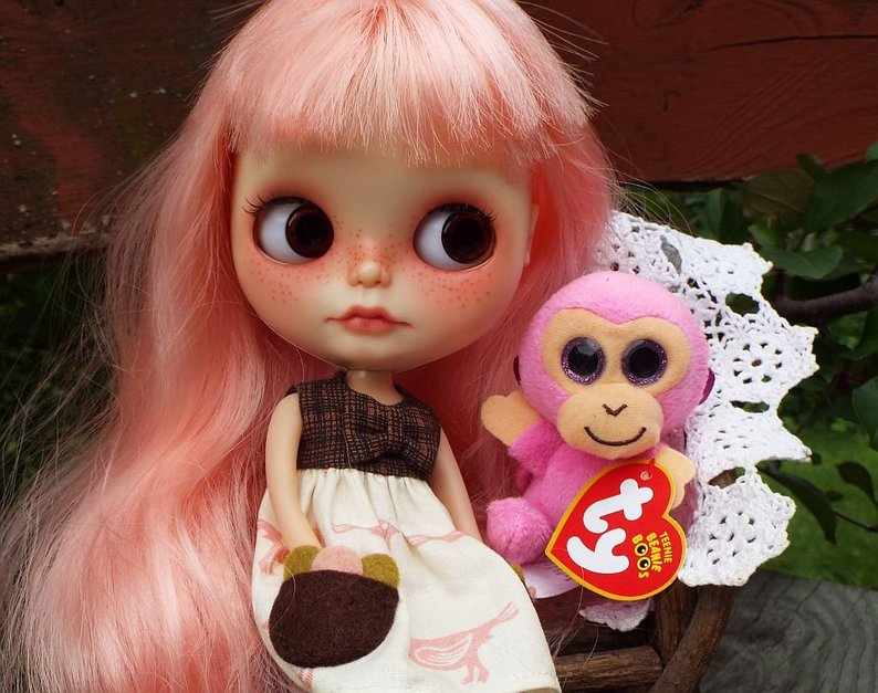 Revelie - Custom Blythe Doll One-Of-A-Kind OOAK Sold-out Custom Blythes