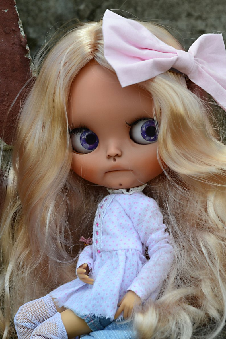 Lyalya - Custom Blythe Doll One-Of-A-Kind OOAK Sold-out Custom Blythes