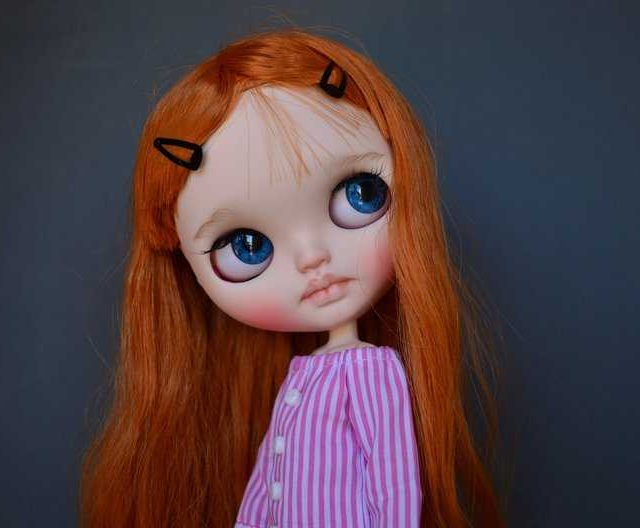 Terra – Custom Blythe Doll One-Of-A-Kind OOAK