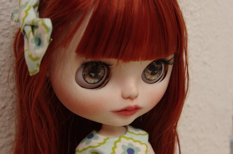 Sarah - Custom Blythe Doll One-Of-A-Kind OOAK Sold-out Custom Blythes