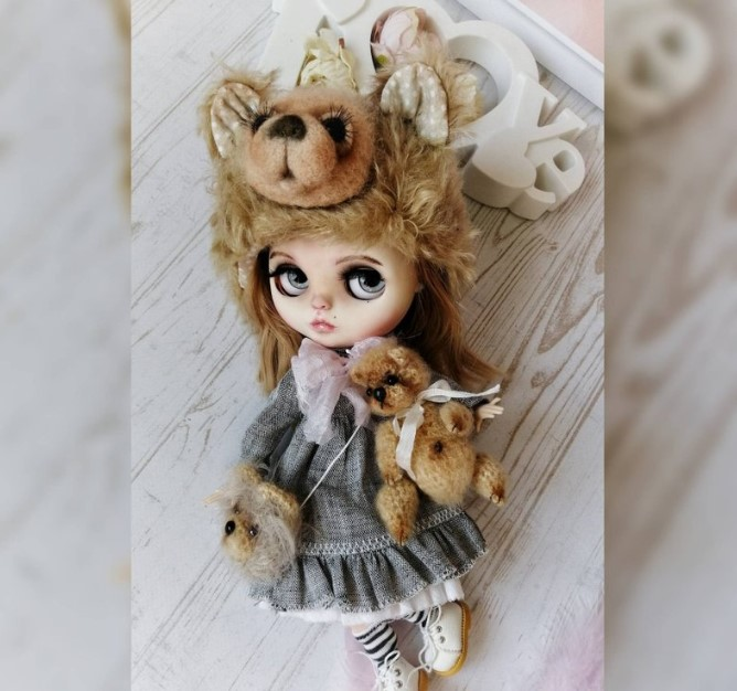 Becky - Custom Blythe Doll One-Of-A-Kind OOAK Sold-out Custom Blythes