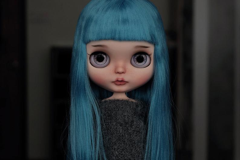 Sybila - Custom Blythe Doll One-Of-A-Kind OOAK Sold-out Custom Blythes