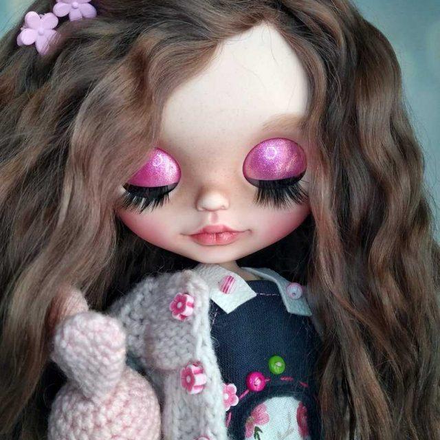 Милана - изготовленная на заказ кукла Blythe, единственная в своем роде OOAK