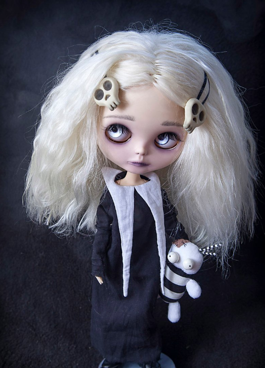 Lenore - Custom Blythe Doll One-Of-A-Kind OOAK Sold-out Custom Blythes