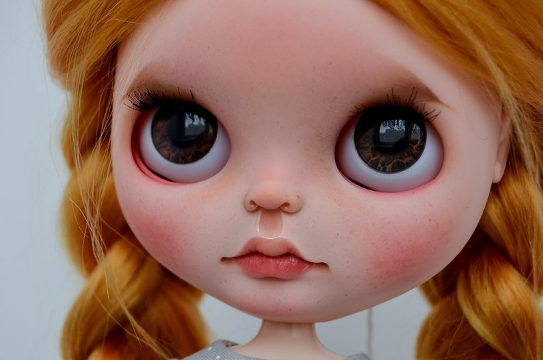 Tam - Custom Blythe Doll One-Of-A-Kind OOAK Sold-out Custom Blythes