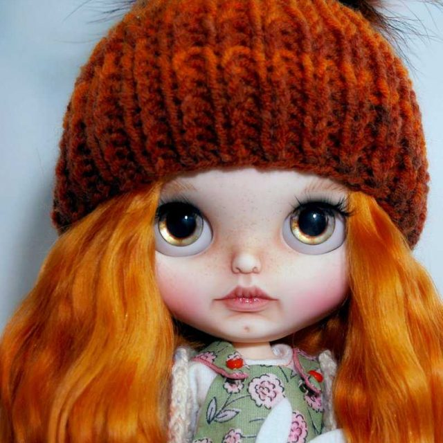 Holly – Custom Blythe Doll OOAK