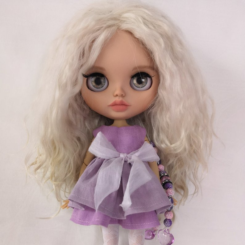 Tracy - Custom Blythe Doll One-Of-A-Kind OOAK Sold-out Custom Blythes