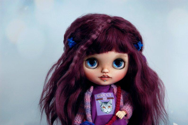 Vilet - Custom Blythe Doll One-Of-A-Kind OOAK Sold-out Custom Blythes