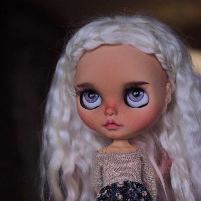 Bianca – Custom Blythe Doll One-Of-A-Kind OOAK