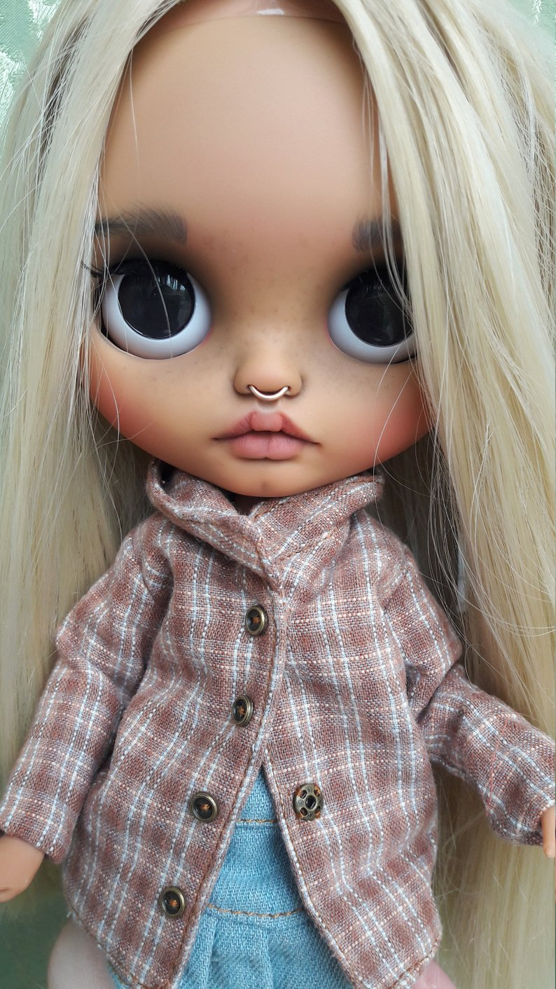 Bailey - Custom Blythe Doll One-Of-A-Kind OOAK Sold-out Custom Blythes