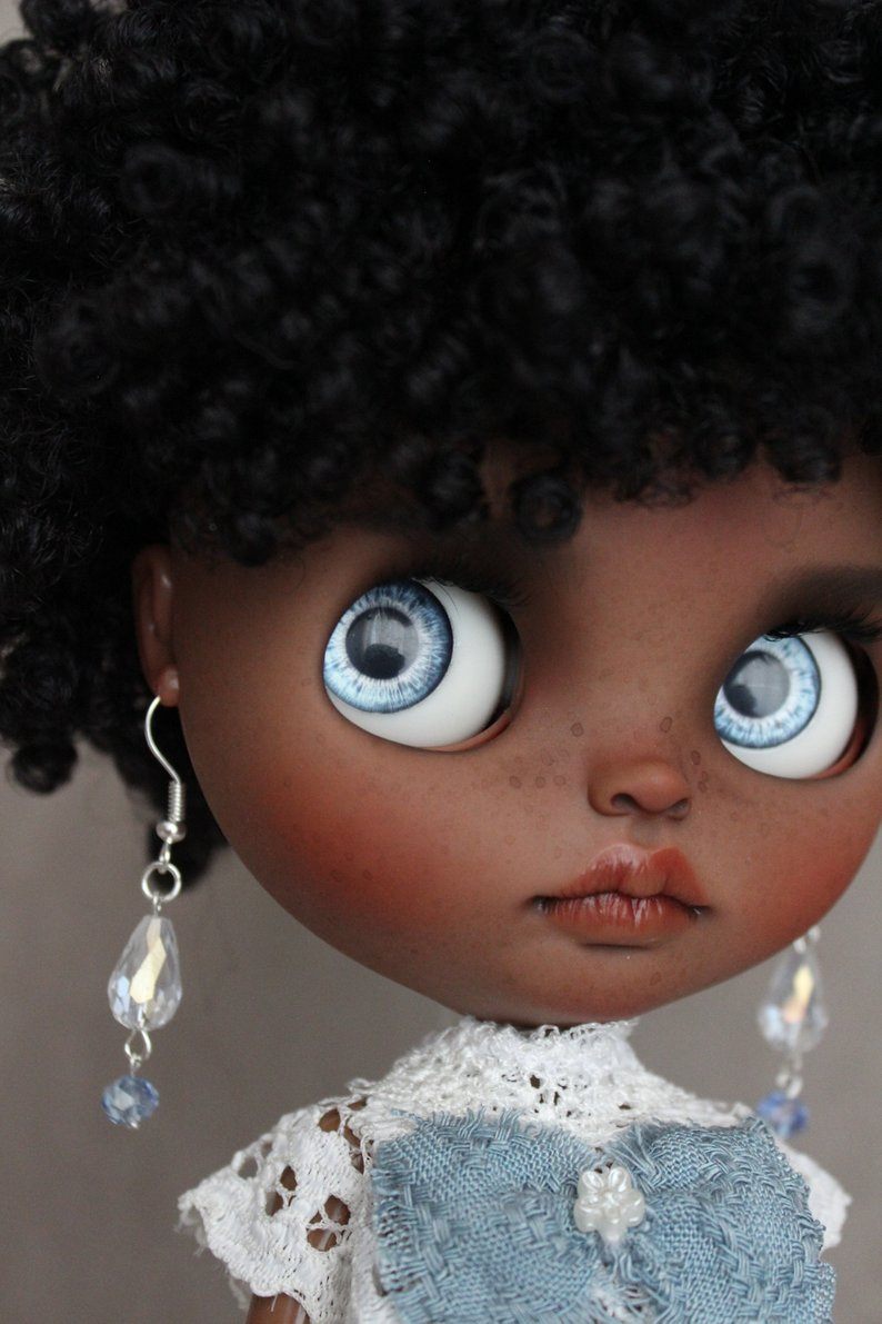 Cristal - Custom Blythe Doll One-Of-A-Kind OOAK Sold-out Custom Blythes