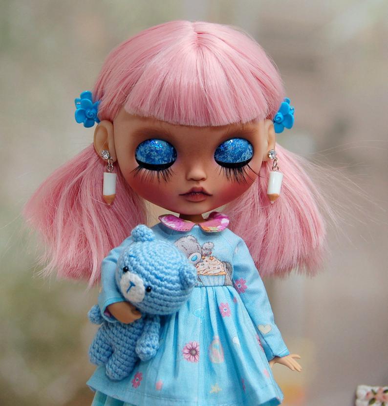 Ridah - Custom Blythe Doll One-Of-A-Kind OOAK Sold-out Custom Blythes