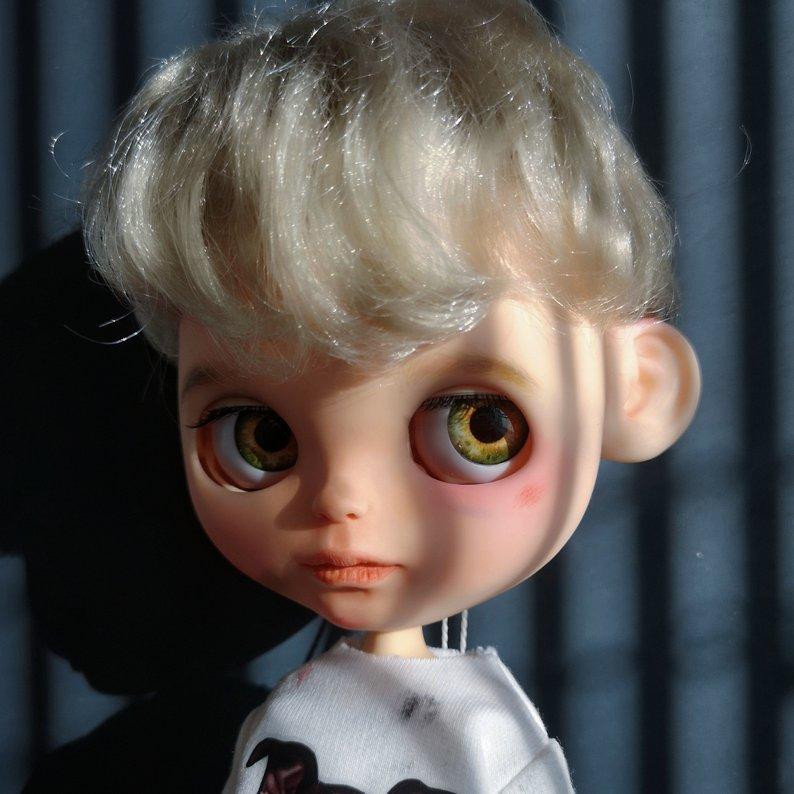 Porter - Custom Blythe Doll One-Of-A-Kind OOAK Sold-out Custom Blythes