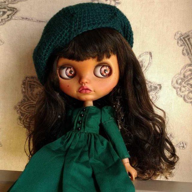Rose – Custom Blythe Doll One-Of-A-Kind OOAK