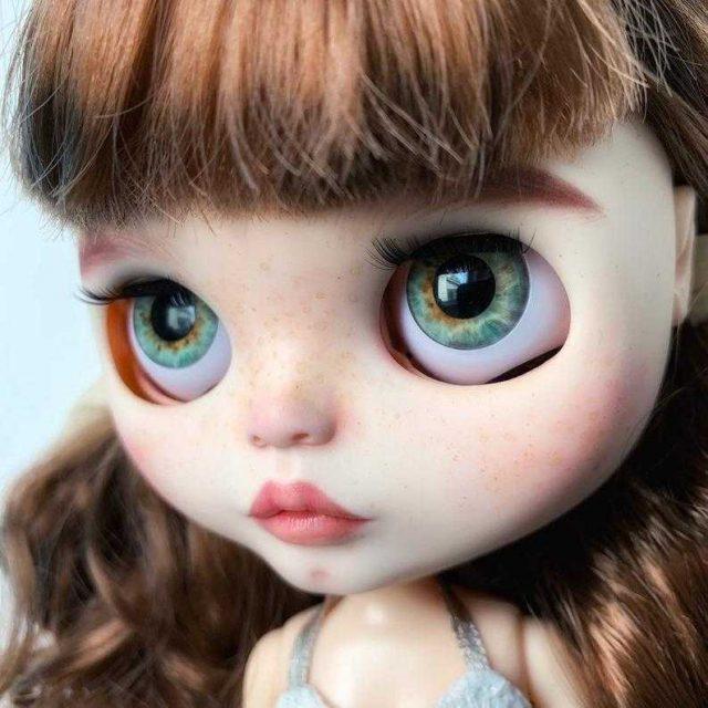 Aubrey – Custom Blythe Doll One-Of-A-Kind OOAK
