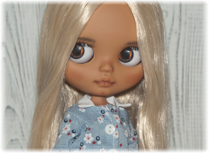 Chanel - Custom Blythe Doll One-Of-A-Kind OOAK Sold-out Custom Blythes