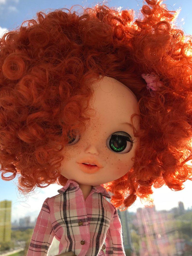 Greta - Custom Blythe Doll One-Of-A-Kind OOAK Sold-out Custom Blythes