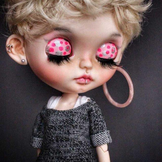 Tati - изготовленная на заказ кукла Blythe, единственная в своем роде OOAK