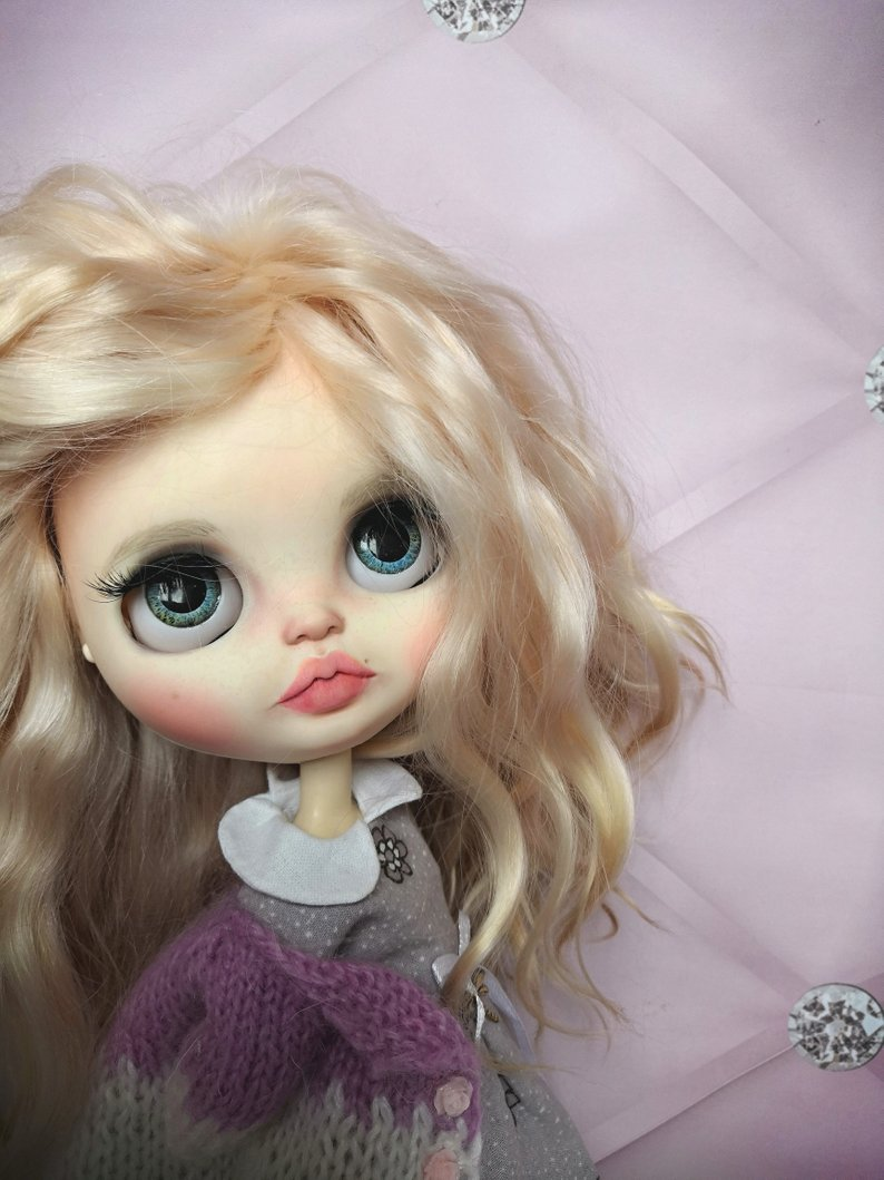Wendi - Custom Blythe Doll One-Of-A-Kind OOAK Sold-out Custom Blythes