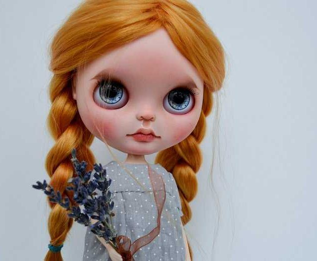 Tam – Custom Blythe Doll One-Of-A-Kind OOAK