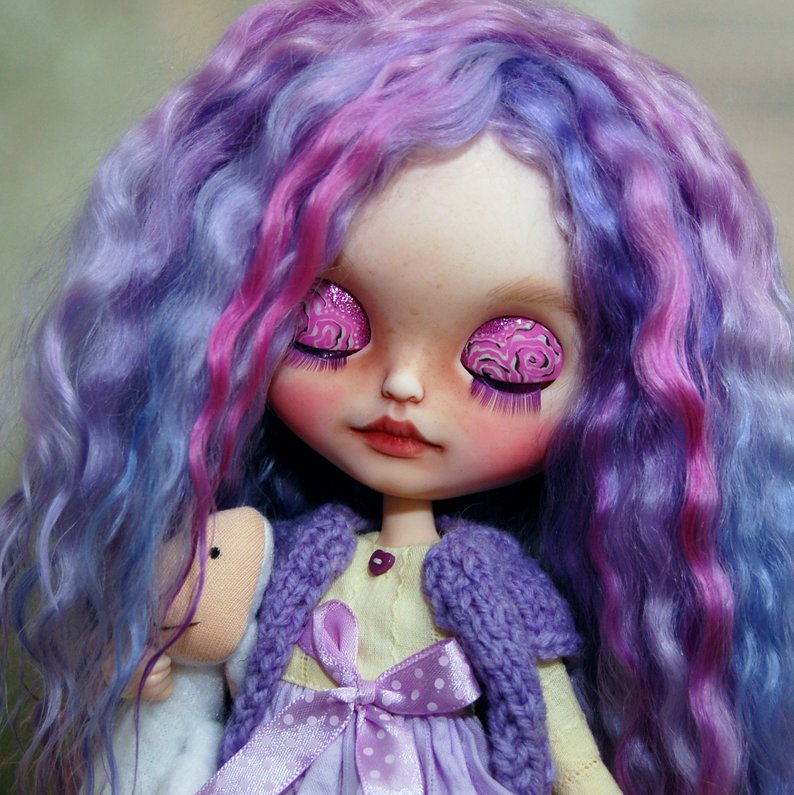 Molly - Custom Blythe Doll One-Of-A-Kind OOAK Sold-out Custom Blythes