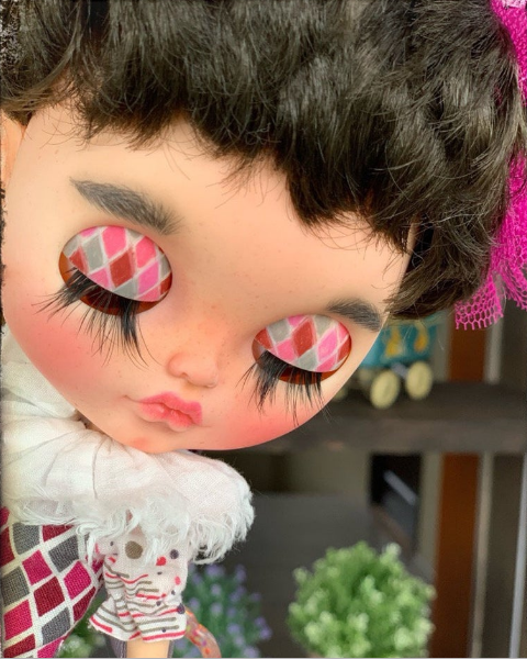 Мэгги - Custom Blythe Doll OOAK