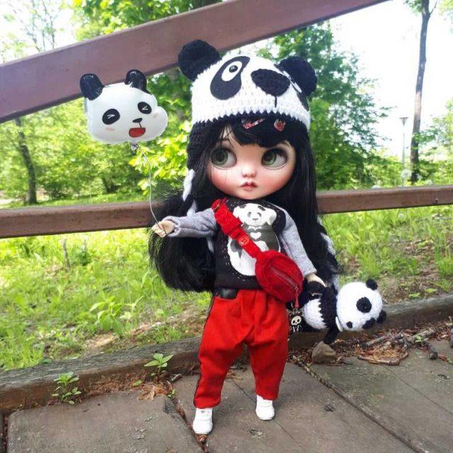 Tara – Custom Blythe Doll One-Of-A-Kind OOAK