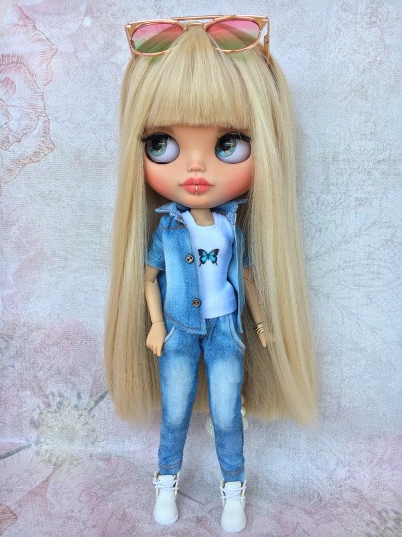 Orrie - Custom Blythe Doll One-Of-A-Kind OOAK Sold-out Custom Blythes